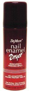Demert Nail Dry Spray 1.2 oz.. (Pack of 4) by Demert. $8.79