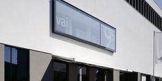 © vai Vorarlberger Architektur Institut Feldkirch, Flat Screen, Contemporary Architecture, Bregenz, Blood Plasma, Flat Screen Display, Flatscreen, Dish Display