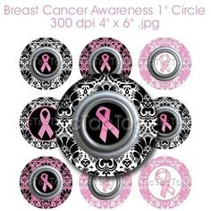 love this!!! i've thought about doing bottlecaps for breast cancer awareness as well...