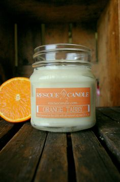 Hey, I found this really awesome Etsy listing at https://www.etsy.com/listing/187809916/orange-tabby-soy-candle-8-oz-glass-mason