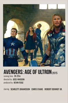 Marvel Movie Characters, Marvel Movie Posters, Avengers Poster, Marvel Avengers Movies, Marvel Quotes, Avengers Age, Marvel Films, Poster Marvel, Film Posters