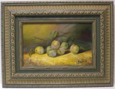 Angel Jurado : Still life. Medium: Oil on wood Measurements (cm): 65x50 Canvas measurements (cm): 40x25 Interior frame: Yes. Pretty still life of fruits, with colours combining to result in a smooth ambiance in all its fullness. A rising, popular painter, of realist subjects, who stands out for the quality of detail which he achieves in his works. $798.28