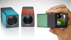 The Lytro camera takes photos that can be refocused after the fact