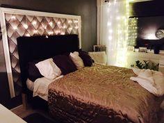 Bedroom. DIY sängynpääty. Bedroom Inspo, Bedroom Ideas, Lions, House Ideas, Interior, Diy, Furniture, Home Decor, Bedroom