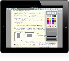 Best iPad app I have found for taking hand-written notes