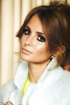 Millie Mackintosh talks beauty with LOOK Retro Makeup, Vintage Makeup, Vintage Diy, Vintage Ideas, Funny Vintage, Vintage Stuff, Vintage Designs, Vintage Cars, Vintage Photos