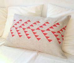 Tribal Pattern Linen Cover by Paleolchic via uncovet $27.40