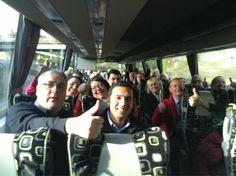 Twitter / AnasSarwar: Glasgow's on its way! Bus load ...