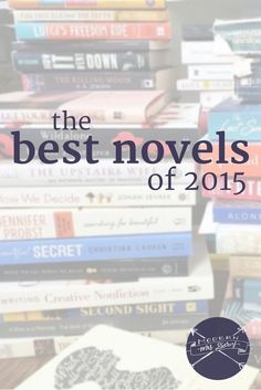 2015 was a great year for novels. Here are some of my favorite fiction books of 2015.