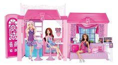 Barbie - Casa con muñeca y accesorios (Mattel Y4118): Amazon.es: Juguetes y juegos