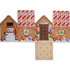 Mini Cottage-Marshmallow Snowmen Roof