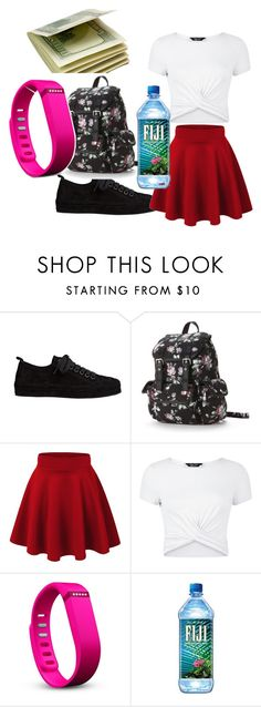 """back to school old navy"" by cutie11-1 ❤ liked on Polyvore featuring Ann Demeulemeester, Candie's, New Look and Fitbit"