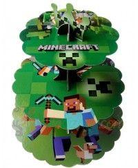 Minecraft Cupcake Standı