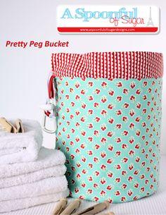 Pretty Peg Bucket