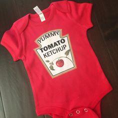 Yummy Tomato Ketchup baby toddler