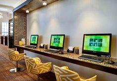 modern hotel business center - Google Search