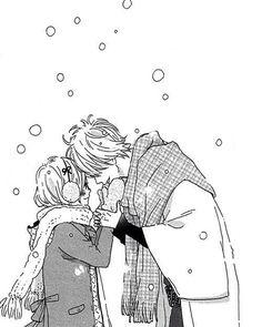 manga, anime, and love image Manga Love, Anime Love, Manga Anime, Anime Art, Takano Ichigo, Couple Manga, Arte Obscura, Cute Poses, Manga Pages