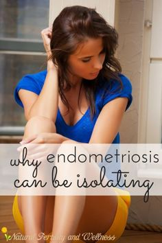 endometriosis can be isolating, but you are not alone <3