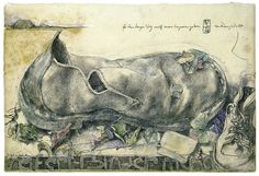 Horst Janssen Schuh Seifert-Binder Gouache, Drawing Sketches, Art Drawings, Horst Janssen, Illustrator, Ecole Art, Detailed Drawings, Museum, Quick Sketch