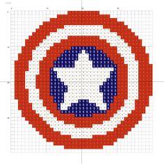 Captain America logo small