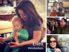 """Ellen: """"I cook because cooking is healthier and cheaper than eating out or eating processed food."""" 