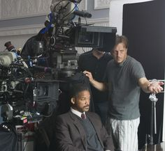 Still Of Will Smith And Gabriele Muccino In The Pursuit Happyness
