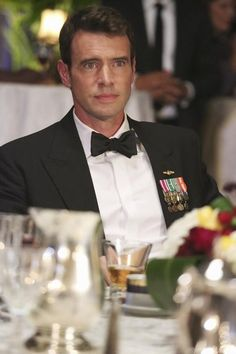 He looks like this in his Navy formal dress. | Community Post: 27 Reasons To Love Captain Jake Ballard