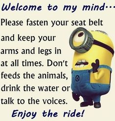 Best 40 Very Funny Minion Quotes #Funny Minions #Minions memes http://ibeebz.com