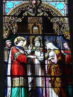 Vitrail de la cathédrale de Blois | por benalu41