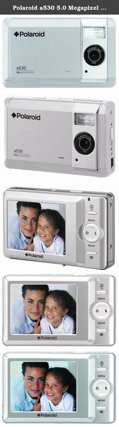 Polaroid a530 5.0 Megapixel Digital Camera with 2.5-Inch LCD Display. Just point and shoot … the Polaroid a530 5mp Digital Camera does the rest! This fun, easy-to-use digital cameras is the ideal choice for taking great pictures while on vacation, at your child's school event, or a out on the town with your friends. Use the included USB cable to transfer pictures to your computer or print your favorites instantly with the Polaroid PoGo™ Instant Mobile Printer!.