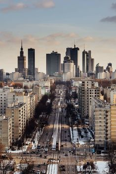 Warsaw Skyline Warsaw City, Warsaw Poland, Cool Places To Visit, Places To Travel, City From Above, Poland Travel, City Aesthetic, City Landscape, Viajes