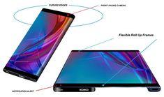 Futurnex: HUAWEI MATE X 2030, un nuevo concepto de dispositivo móvil con tecnología plegable Galaxy Phone, Samsung Galaxy, Smartphone, Proposal, Frames, Design, Gadgets, Study, Inspired