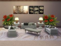 Leaves can be beautiful paintings at Trudie55 via Sims 4 Updates  Check more at http://sims4updates.net/objects/decor/leaves-can-be-beautiful-paintings-at-trudie55/