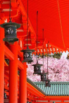 Heianjingu-Shrine, Japan. Like our inspiration? Visit us here: http://www.etsy.com/shop/LeVintageSloth