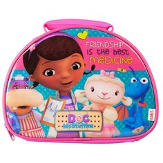 Doc McStuffins Lunch Bag from Funstra Toys Doc Mcstuffins Toys, Lunch Cooler, Insulated Lunch Bags, Cool Stuff