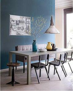 Inspiration # 20 - Une salle à manger pour votre zone Carrière - Chemin de vie. - Miss Feng Shui
