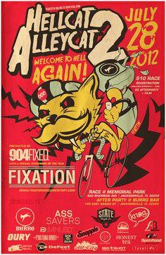 Hellcat Alleycat 2 - PEDAL Consumption
