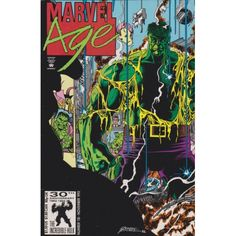 MARVEL AGE #118A | 1983-1994 | VOLUME 1 | MARVEL | November 1992 | $1.20