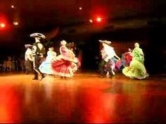mexican hat dance done by the latino community in western australia - YouTube