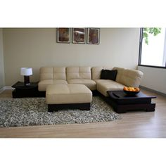 Wyatt 3 Piece Full Leather Sectional Adds Comfort And Style