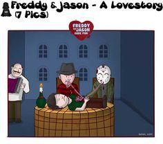 Freddy & Jason – A Lovestory (7 Pics)
