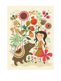 Psikhouvanjou Wild Dream Poster (50x70cm)