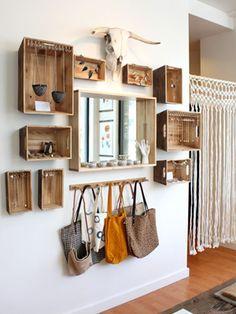 Trend: wandboxen met accessoires | 365 Woonideeën