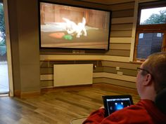 HiddenWires - Rachel House, Kinross - bringing home cinema to children and young people with short lives
