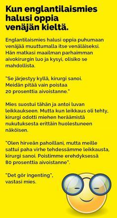 Vitsit: Kun englantilaismies halusi oppia venäjän kieltä - Kohokohta.com Humor, Comics, Memes, Funny, Cards, Humour, Meme, Funny Photos, Funny Parenting
