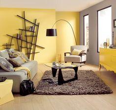 Amarelo, preto e cinza.