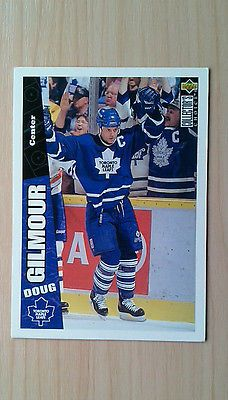 Doug gilmour (maple leafs) - upper deck #collector's #choice nhl #hockey cards ,  View more on the LINK: http://www.zeppy.io/product/gb/2/391447415731/