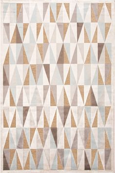 Jaipur Rugs Fables Triangle Ivory & Beige Area Rug | AllModern | $721