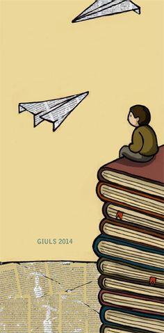 #libro #book #carta #illustrazione #illustration #disegno