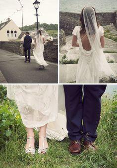 {Suzie & Dan} Jacqueline Byrne Vintage style wedding dress for Luella's Boudoir